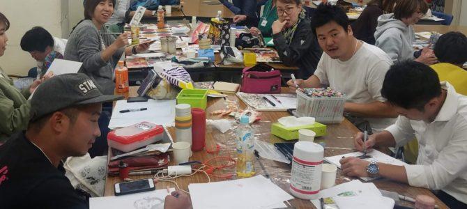 似顔絵交流会 わいわい広場OFFLINE(大阪)のご報告
